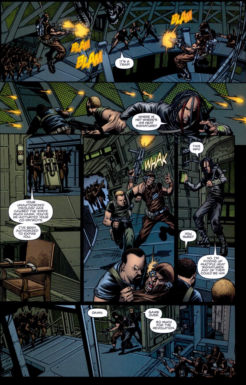 Read online Static-X: Machine comic -  Issue # Full - 16