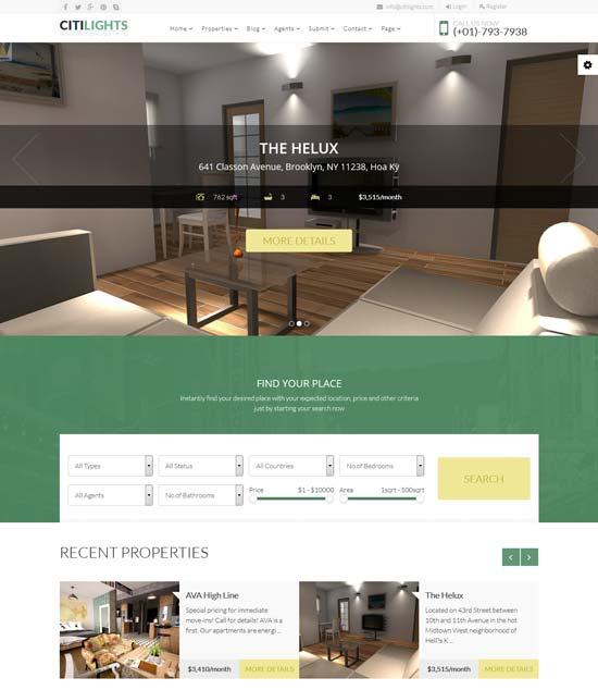 Best Real Estate & Property Website Joomla Templates 2016