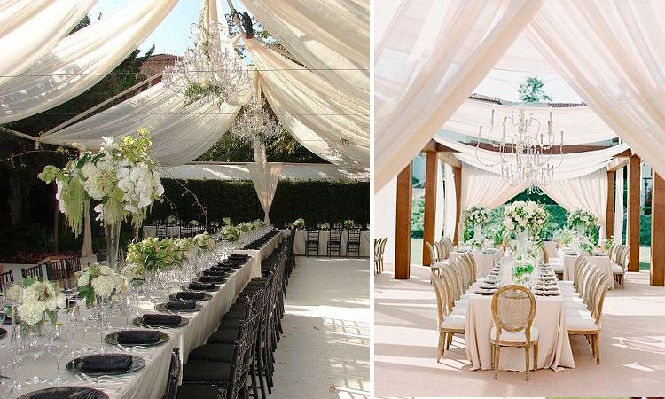 Marzua ideas para la decoraci n de bodas al aire libre for Decoracion boda exterior