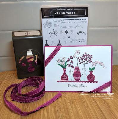 Varied Vases, Berry Burst