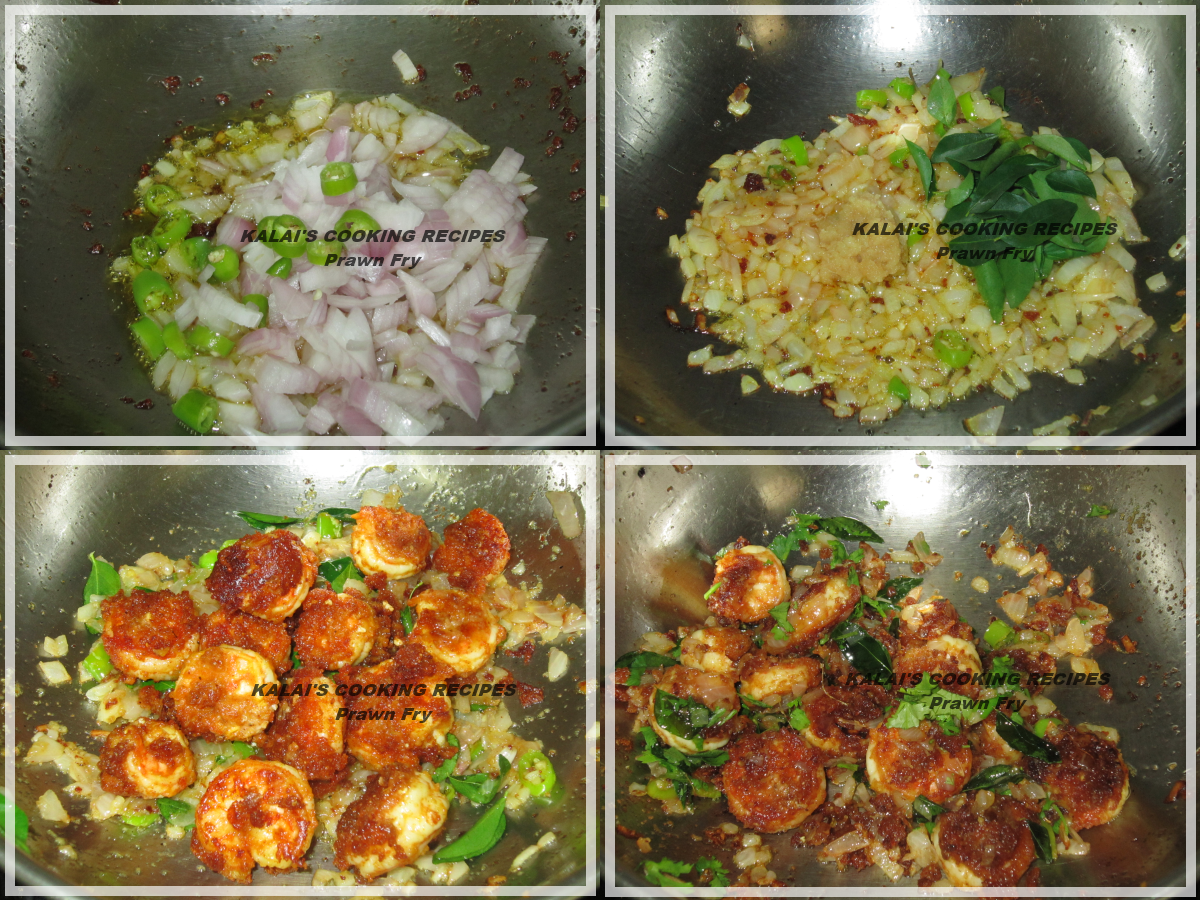 Hot And Spicy Dry Chili Prawn Ii South Indian Style Recipe