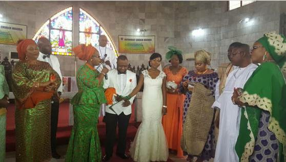 Actress Toyin Adegbola's Son's Wedding