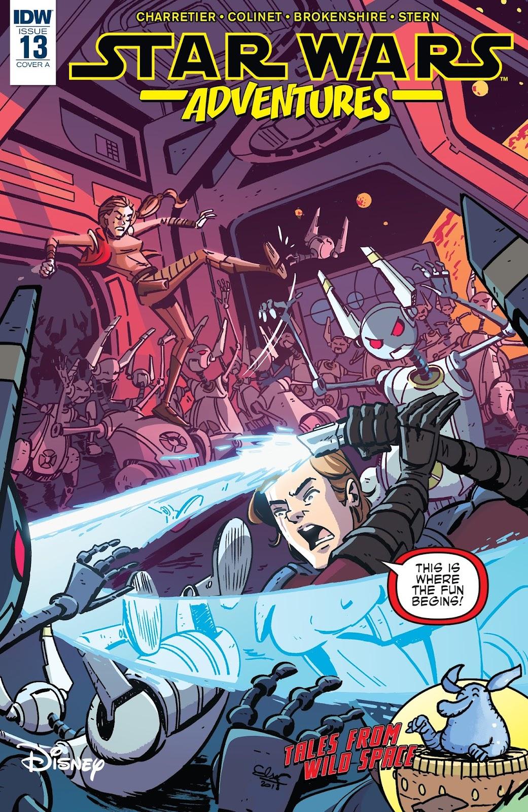 Star Wars Adventures (2017) Issue #13 #14 - English 1