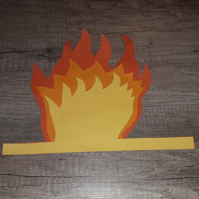 flamme pour cheminée noel tutoriel tuto diy décoration noel facile carton
