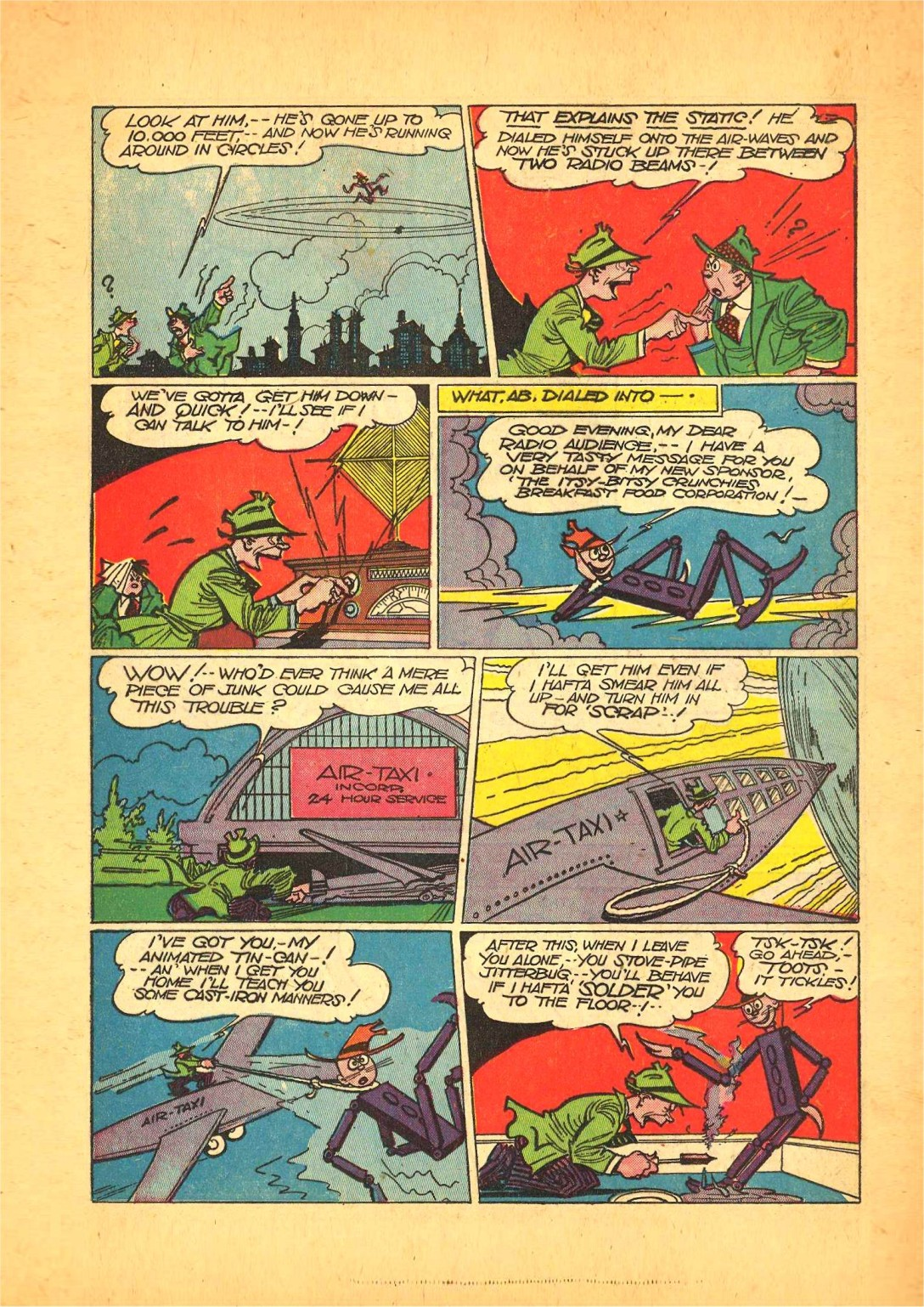 Read online Action Comics (1938) comic -  Issue #68 - 30