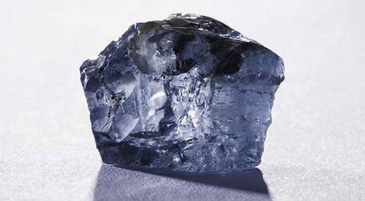 Berlian Afrika Selatan Warna Biru Langka