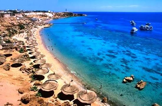 Turismo de playa en Egipto
