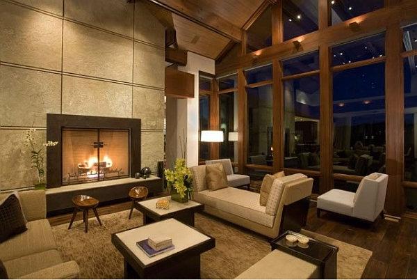 Dise o de salas modernas elegantes colores en casa for Imagenes de salas modernas y elegantes