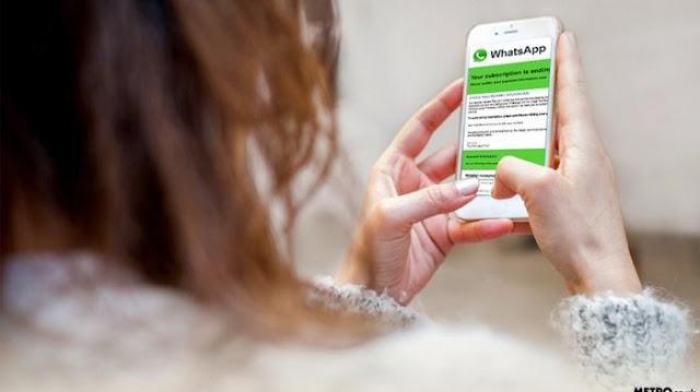 Penipuan Lewat WhatsApp, Jangan Klik Jika dapat Pesan Semacam ini