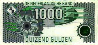 bankbiljet van 1000 gulden