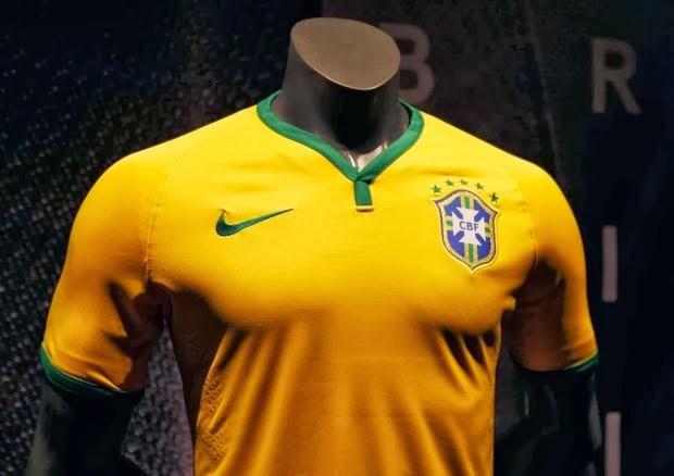 a595106882 Designer explica o uniforme da seleção brasileira pra Copa14!!!