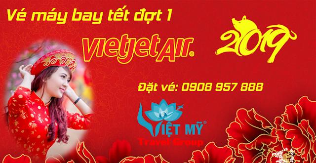 Vietjet Air mở bán vé máy bay tết 2019 đợt 1