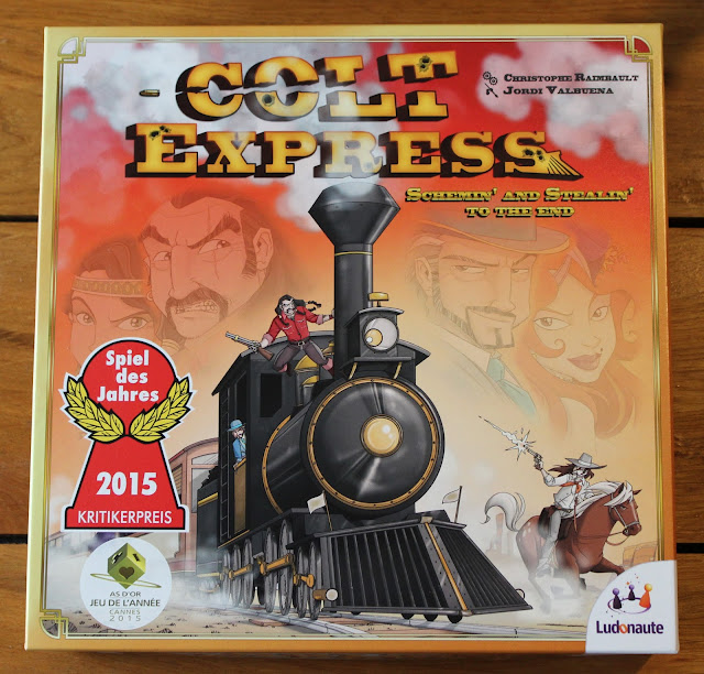 Colt Express board game review