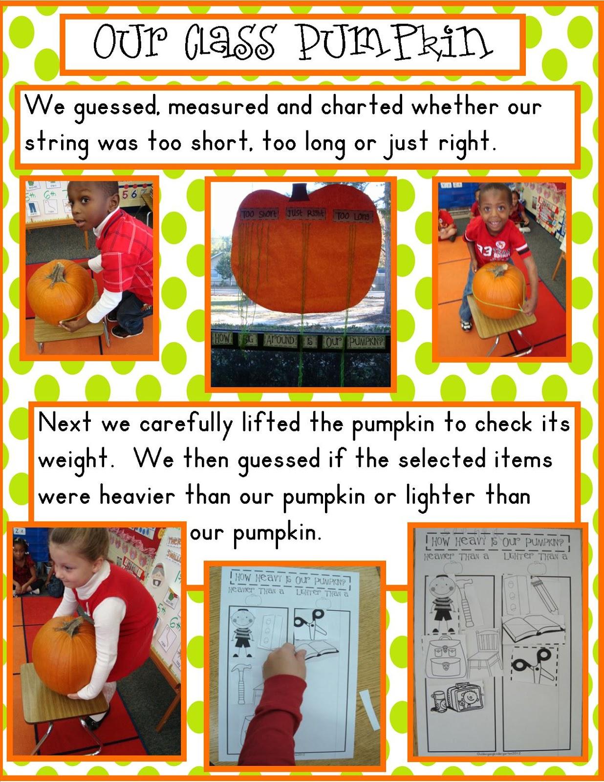 Golden Gang Kindergarten Pumpkins And Bats