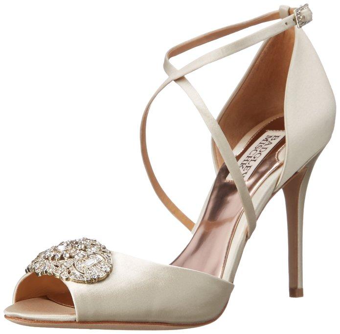 dance wedding night away badgley mischka shoes