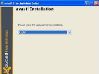 Cara instal Avast! free Antivirus dengan Offline