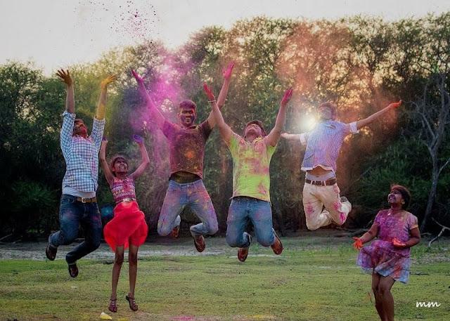 holi festival india 2018
