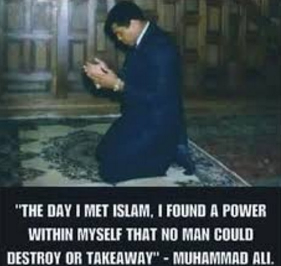 Kisah Muhammad Ali Masuk Islam