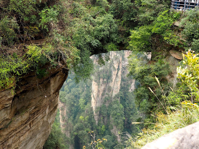 Natural bridge in Yuanjiajie area of Zhangjiajie National Park, China