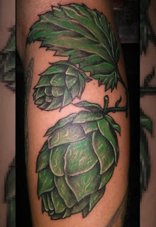 Tatuajes Cerveceros, flor de lúpulo
