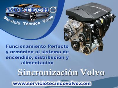 Taller Volvo Sincronizacion de Motor