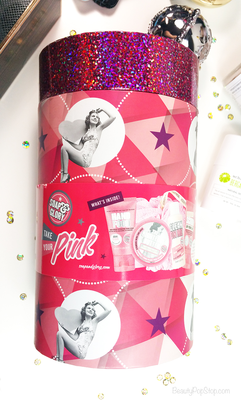 gift ideas soap & glory take your pink gift set