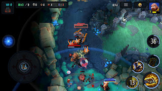 heroes of soulcraft game moba untuk android dan iPhone