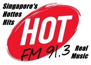 Hot radio 91.3 FM Singapore's hottes hits