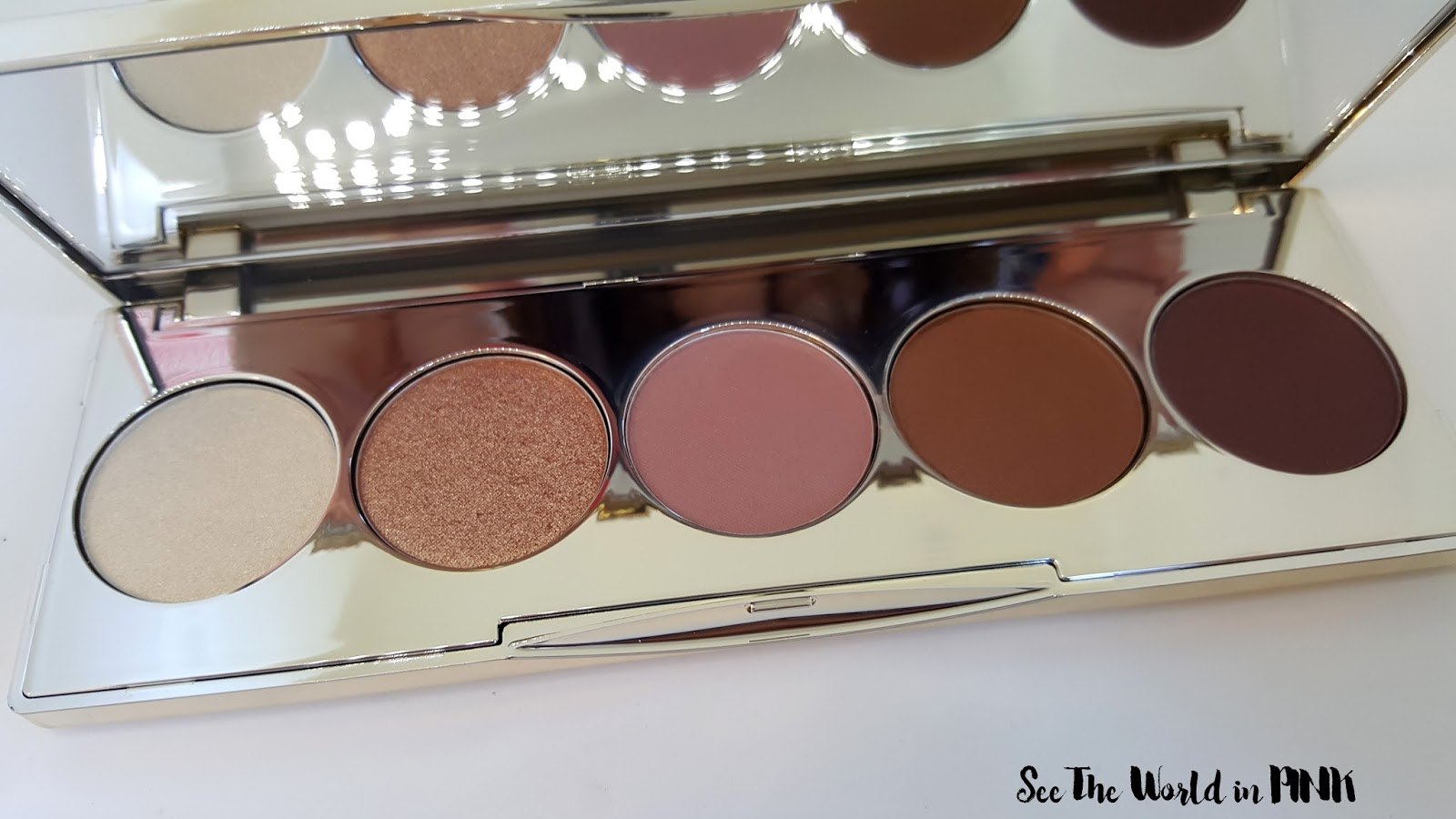 becca x jaclyn hill champagne glow collection eyeshadow palette review