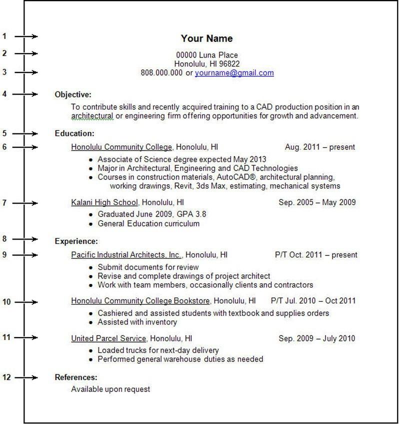 harvard student resume examples
