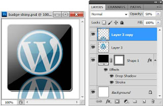Membuat Badge Wordpress