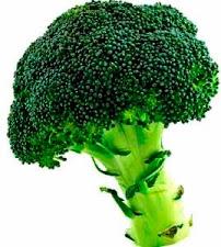 Foto del brócoli, hortaliza color verde