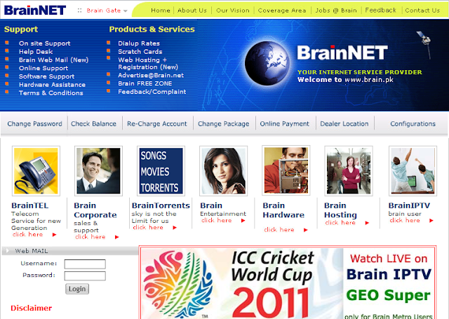 BrainNET ISP/TV Provider hacked by ProDom Security