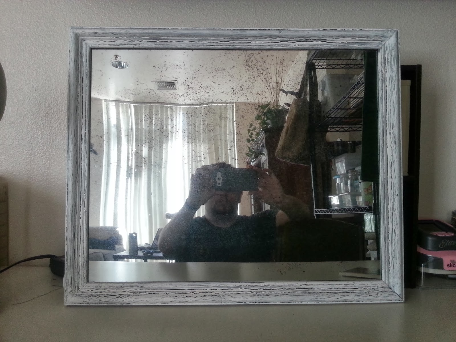 With Our Powers Combined Antique Mirror Mirror Spray And