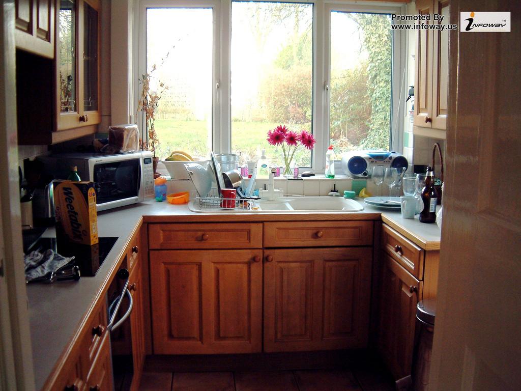 Dapur Kecil Dan Cantik