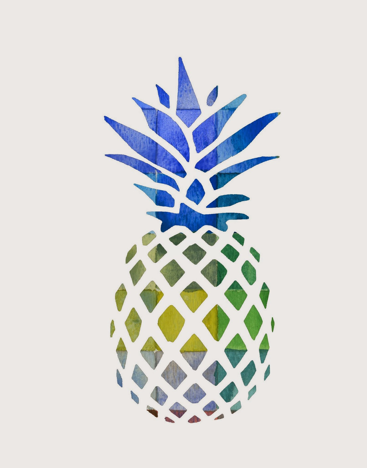 photograph regarding Free Printable Pineapple called Pineapple Printables for Your Subsequent Venture! - The Weathered Fox