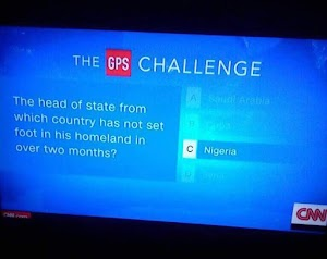 CNN Make Jest Of Nigeria With The GPS Challenge