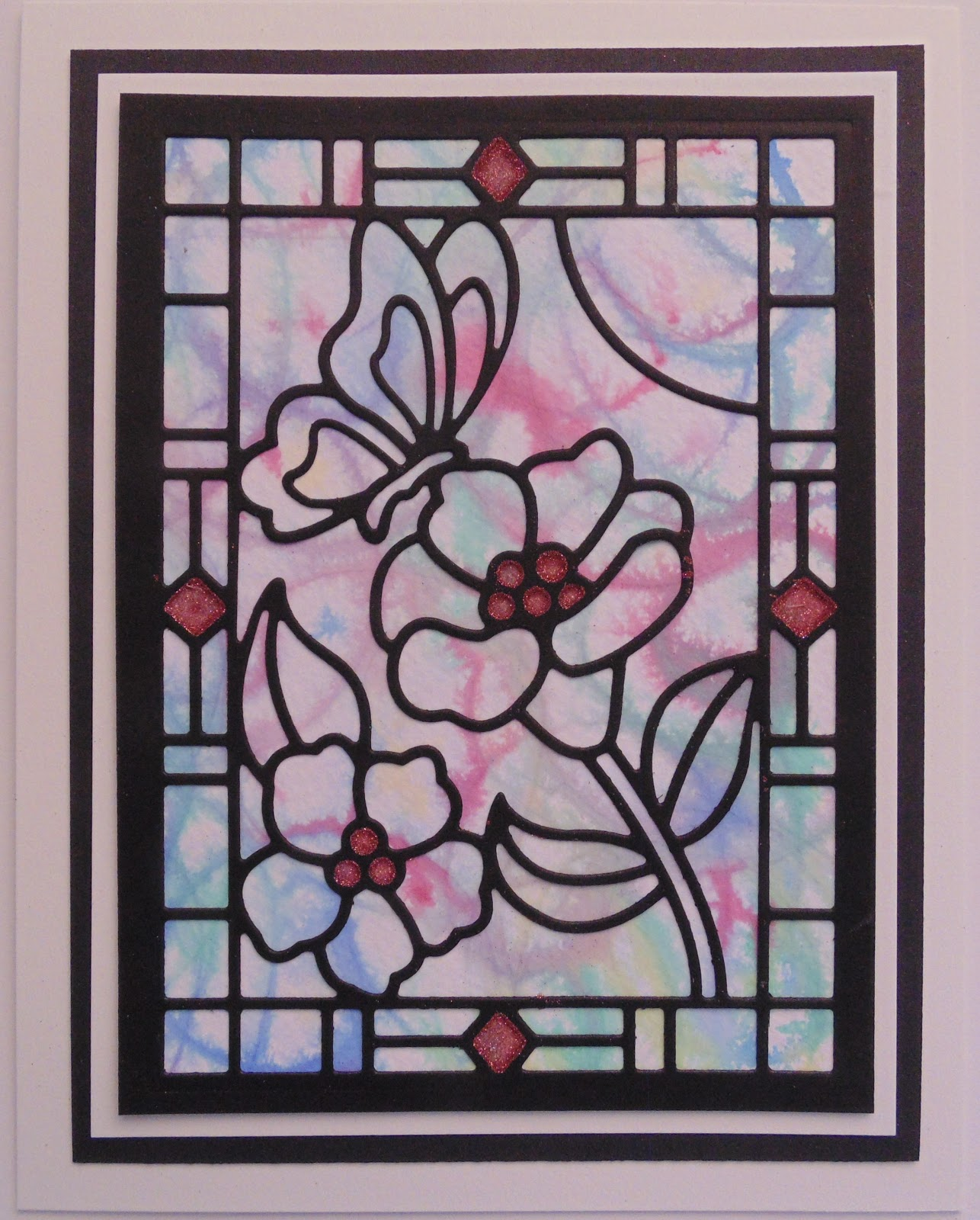 Simple Stained Glass Windows Designs