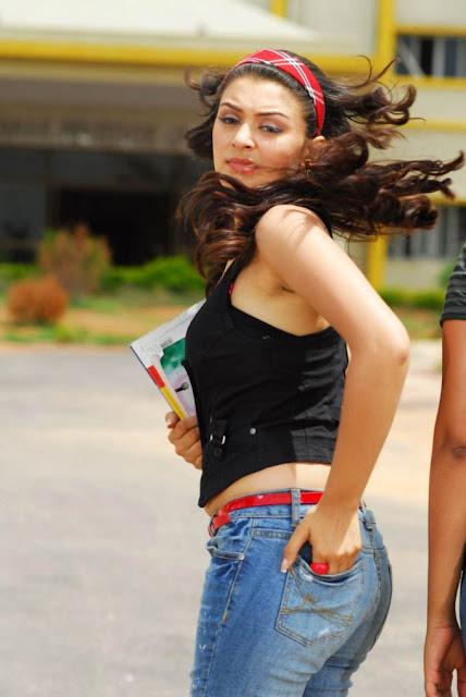 Hansika Motwani was Looking Hot in Denim Jeans