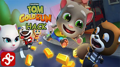 Tải game Talking Tom Gold Run hack full tiền cho Android