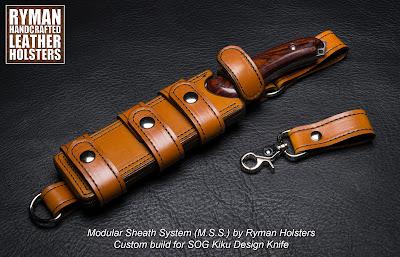 Modular Sheath System Bushcraft by Ryman Holsters