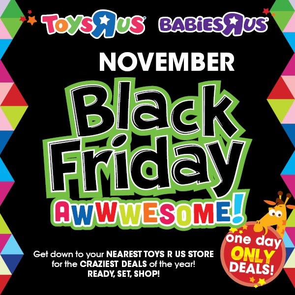 Toys R Us Black Friday Deals Ads Sale Special 2018