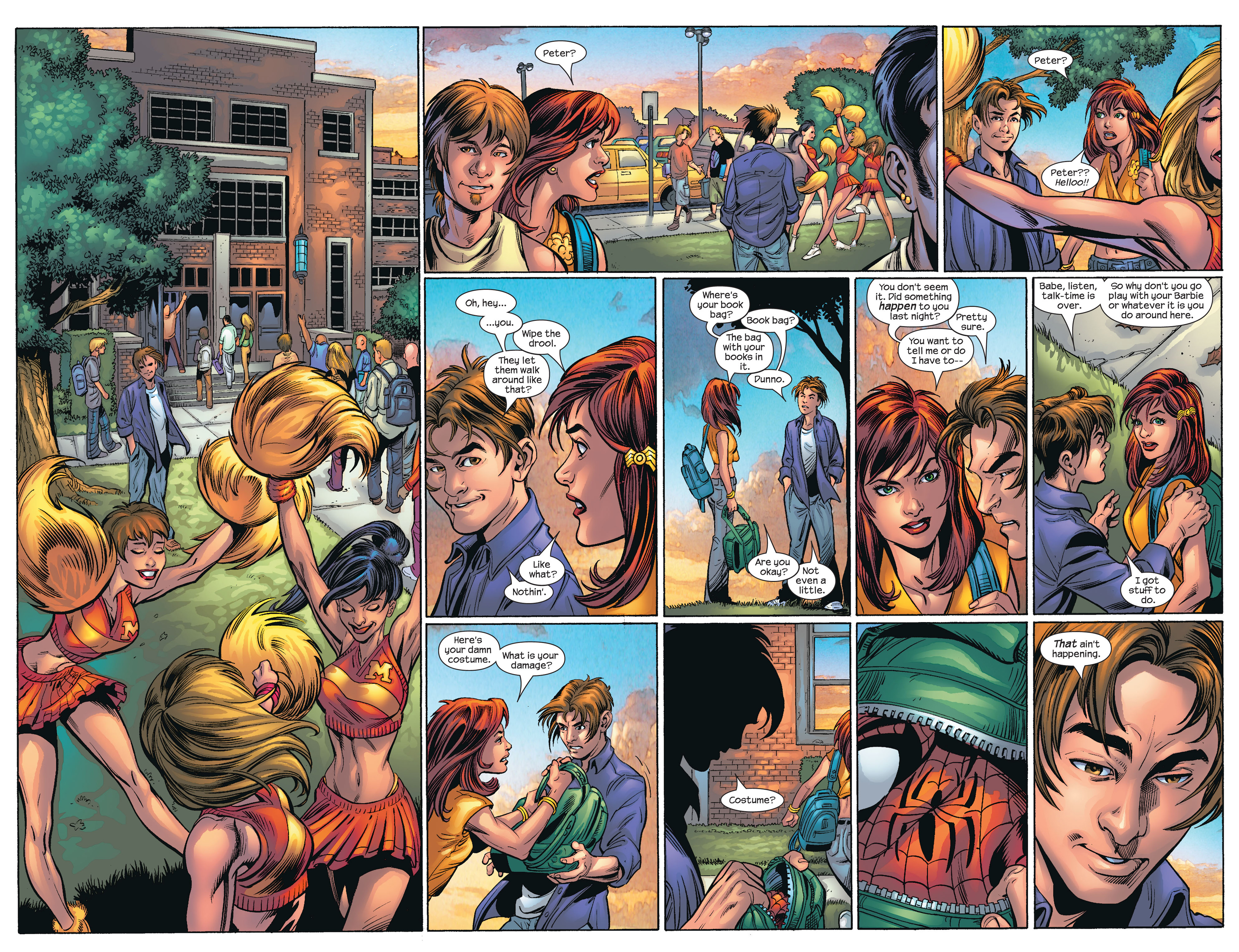 Read online Ultimate Spider-Man (2000) comic -  Issue #66 - 13