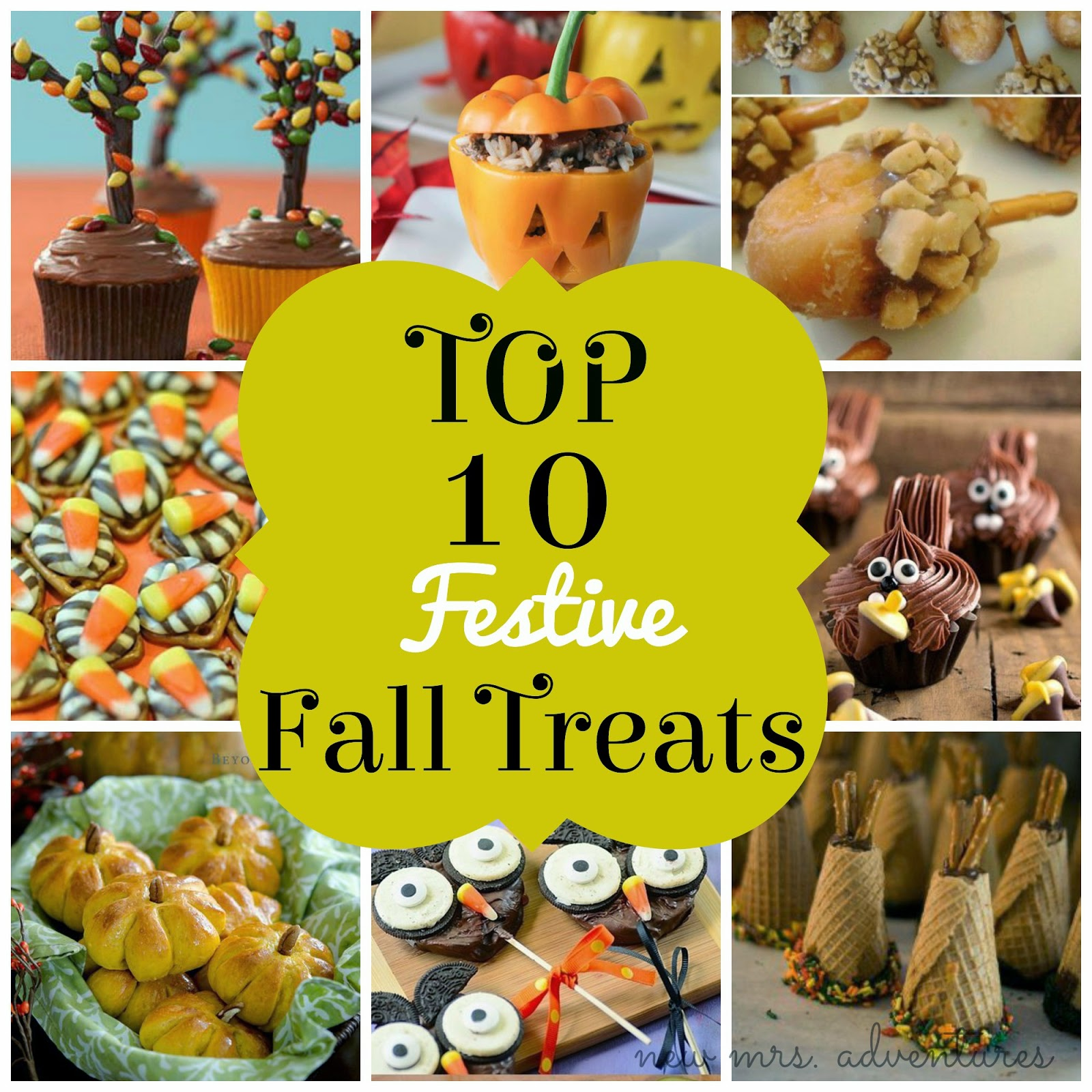 Barnabas Lane: Top 10 Festive Fall Treats
