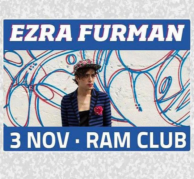 EZRA FURMAN: Rop 'n' roll en la Rambleta (3-11-15)