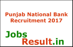 Punjab National Bank Recruitment 2017