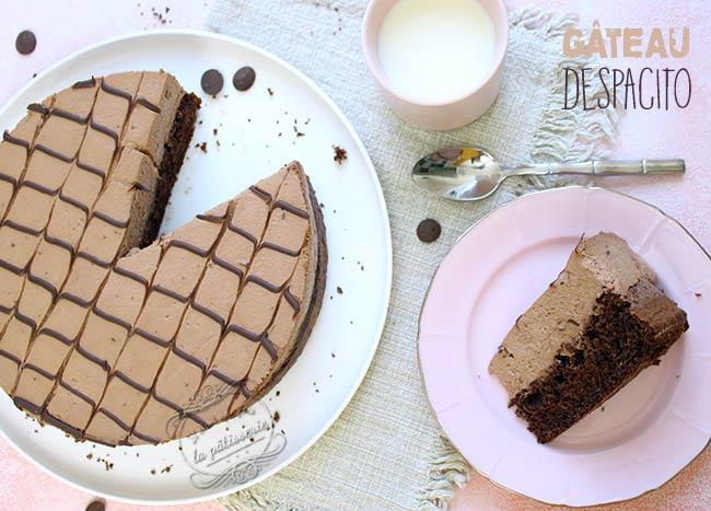 gateau au chocolat brésilien despacito