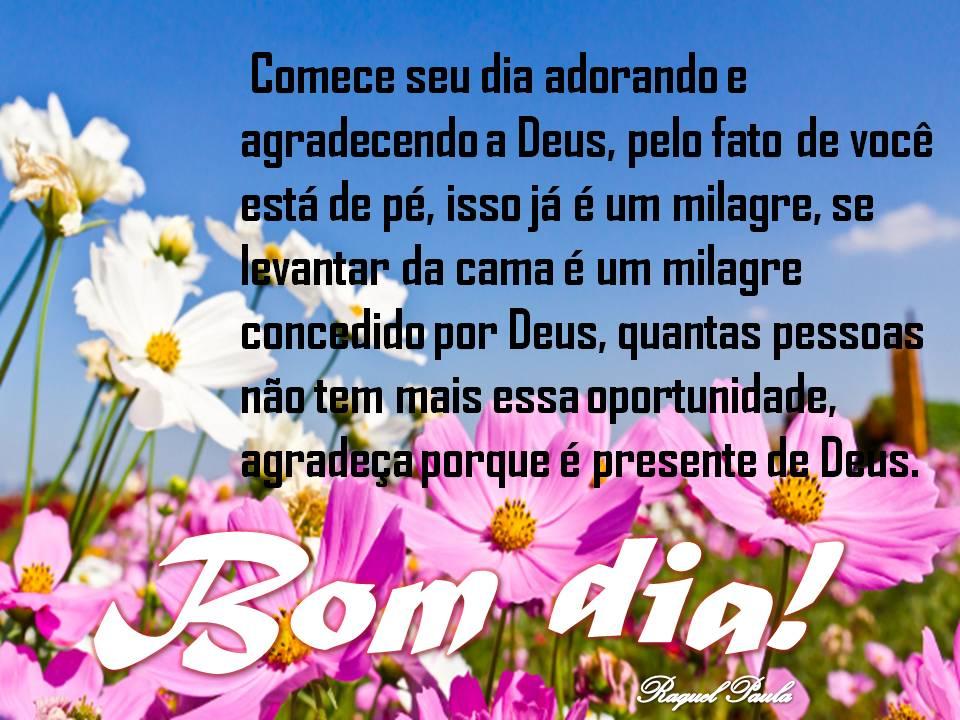 Tag Mensagem De Agradecimento A Deus E Bom Dia