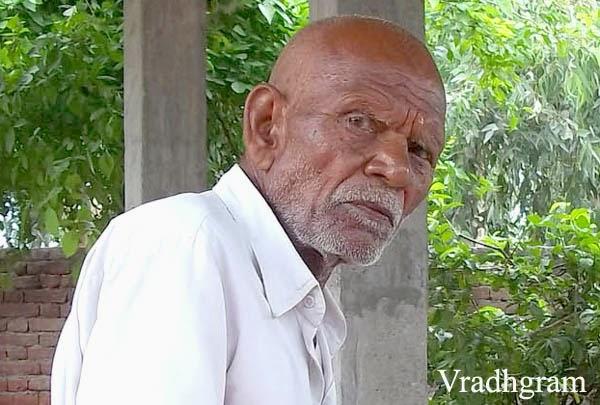 aged man india