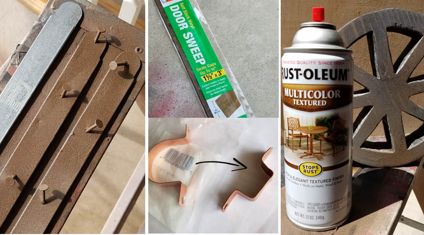 Wood Textured Spray Paint How to create a fake wood grain effect